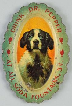 Buy online, view images and see past prices for Dr. Pepper Needle Tray With Dog. Invaluable is the world's largest marketplace for art, antiques, and collectibles. Vintage Soft, Vintage Tins, Retro Advertising, Vintage Advertisements, Vintage Photographs, Vintage Images, Soda Fountain, Mountain Dew, Dr Pepper