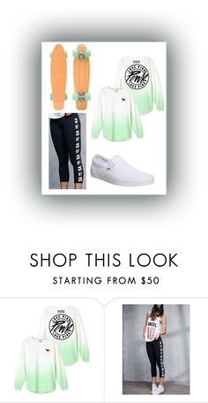 """""""☀️Let's Take A Ride☀️"""" by kitkat308 on Polyvore featuring Victoria's Secret, Vans, women's clothing, women, female, woman, misses and juniors"""