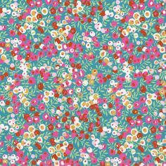 New retro pink and blue Wiltshire online now! This is a rare fabric which has been reprinted from the Liberty archive.