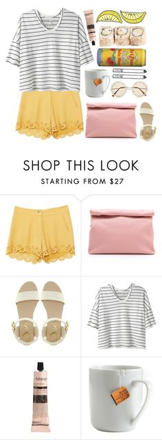 """Fresh"" by soil-and-sky ❤ liked on Polyvore featuring Marie Turnor, Dune, Alexander Yamaguchi, Aesop, le mouton noir & co., River Island, Chloé and MANGO"