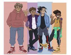 Ninja Turtles Funny, Ninja Turtle Toys, Ninja Turtles Art, Cute Turtles, Teenage Mutant Ninja Turtles, Tmnt Human, Tmnt Swag, Cartoon Characters As Humans, Tmnt Comics