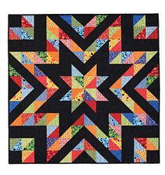 "Sparkle Plenty 48"" square pattern by Stephanie Dunphy   ConnectingThreads.com"