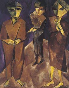 Kaddish, Lasar Segall, 1917.
