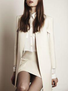 long jacket. short skirt.