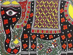 Indian Painting Styles...Madhubani/Mithila  Painting (Bihar)-madhubani-elephants1-4-.jpg