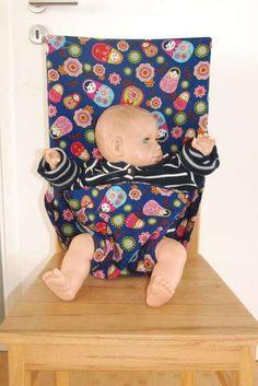 Ebook für einen Reisesitz / Hochstuhl / Sitzhilfe fürs Baby selber nähen. Travel high chair