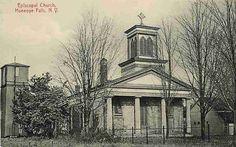 Honeoye Falls New York NY 1908 Episcopal Church Vintage Postcard | eBay