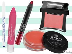 Makeup Bag: Bright Spring Color For Lips, Eyes, And Cheeks