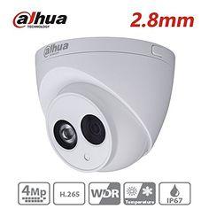 Dahua IPCHDW4431CA 28mm Lens 4MP Full HD IR Mini Dome Network Camera PoE IP67 Waterproof Builtin Mic International Version -- Want additional info? Click on the image.