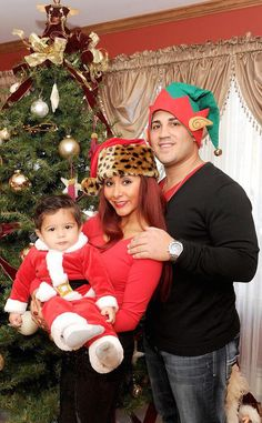 Snooki shares her holiday plans with Lorenzo and Jionni