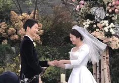 Wedding pics of my SongSong couple: Song Hye Kyo, Song Joong Ki, Wedding Songs, Wedding Couples, Cute Couples, Wedding Pics, Songsong Couple, Best Couple, Korean Celebrities