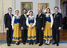Swedish Royals on Sweden's National Day, 6 June 2014