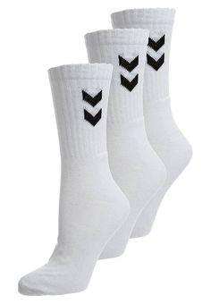BASIC 3 PACK - Sportssokker - white Socks, Tattoo, Fashion, Stockings, Moda, Fashion Styles, Tattoos, Sock, Irezumi