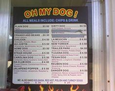 Hot Dog Cart Menu   Hot Diggity: Three new mobile hot dog restaurants bring franks to all ...