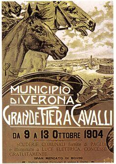 Grande fiera dei cavalli di Verona, anno 1903