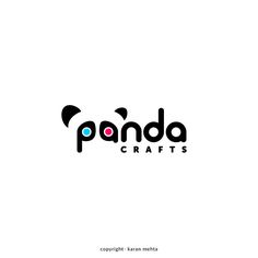 Logo Design | Panda Crafts Copyright.karanmehta.2016