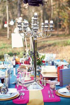 Eclectic And Whimsical Bridal Shower