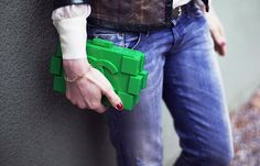 Chanel Lego Clutch - The Handbag Concept Chanel Lego, Street Smart, Passion For Fashion, Concept, Handbags, History, Chanel Purse, Women, Attitude