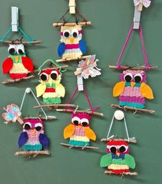 Diy And Crafts, Crafts For Kids, Arts And Crafts, Owl Kids, Weaving For Kids, Textiles, Loom Weaving, Peppa Pig, Handicraft