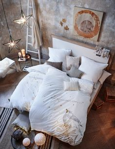 Verschiedene Lichtaccessoires für dein Schlafzimmer von Impressionen.de * interior design * gemütliches Schlafzimmer * bedroom