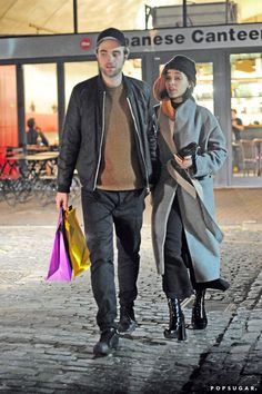 Pin for Later: Robert Pattinson and FKA Twigs Take a Sweet Stroll Together in London