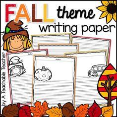 Fall printable writi