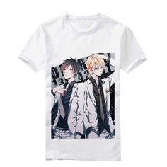 Camplayco Durarara!! White Logo T-shirt Cosplay Costume Size S *** Read more reviews of the product by visiting the link on the image.