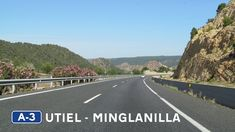 Autovía in Eastern Spain, from Utiel to Minglanilla, across the Contreras Reservoir. Places To See, Spain, Around The Worlds, Country Roads, Journey, Beautiful, The Journey