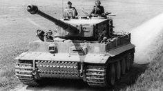 La épica batalla entre un solitario tanque nazi y un ejército aliado