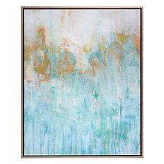 Blue Lagoon - $599.95  (Artist:  Lisa Tureson - Dimensions:  40''W x 50''H)