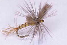 Dry flies using tenkara
