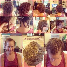 Style: Starter Locs (Braid Locs to Interlocks) Retight and Style Hair Added: NA Products Used: Coiled! (Original Refresher Spray) by Conscious Coils  Time: 1hr 4mins Style Duration: Retight every 6weeks
