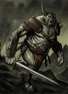 Na mitologia irlandesa, foi uma corrida semi-divina, que habitavam a Irlanda em tempos remotos.Eles podem ter sido uma vez Acredita-se que os seres que antecederam os deuses, semelhantes aos Titans grego. Tem sido sugerido que eles representam os deuses do caos e da natureza selvagem, ao contrário do Tuatha de Danann, que representam os deuses da civilização humana.Eles são, por vezes, disse ter tido o corpo de um homem ea cabeça de uma cabra, ou de ter tido um olho