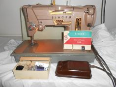 Can't wait to sew on my new vintage 1960's Singer 328K