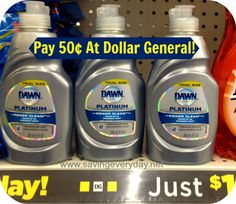 Dawn Platinum Dish Soap Just At Dollar General Hot Store, Dawn Dish Soap, Power Clean, Disney Vacation Planning, Best Cleaning Products, Best Dishes, Dollar General, Coupon Deals, Cleaning Supplies