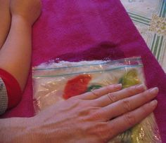 Wet felting with Kids - using a ziplock bag   Art show and Mother's Day