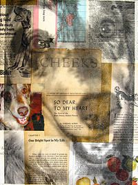 Michelle Caplan Mixed Media Collage Portraiture | COMMISSIONS