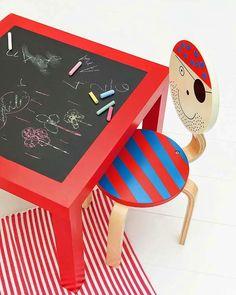 6 Ideas para personalizar la mesa Lack de Ikea | AYUDAADECORAR