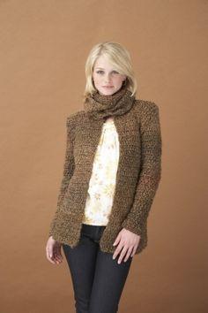 Free Crochet Pattern: Vintage Tie Jacket
