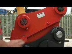 New Holland kobelco E9SR mini excavator & Klac coupler minibagger minigraver pelle - YouTube