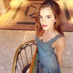 """ewatsondaily: """"  Final look of Emma Watson for the promotion of 'Regression' in Madrid, Spain on August 29, 2015 """""""