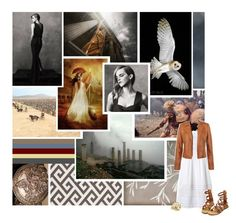 """""""Emma Watson as Athena"""" by my-heart-is-art ❤ liked on Polyvore featuring art"""