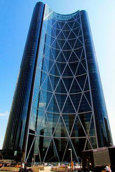 Calgary ( The Bow ), Alberta, Canada Unusual Buildings, Amazing Buildings, Beautiful Architecture, Art And Architecture, Ottawa, All About Canada, Canada Eh, Alberta Canada, Banff Alberta