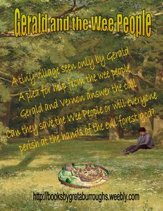 Gerald and the Wee People – inside the forest god's cave