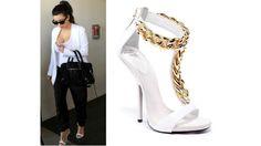 Celeb Fashion Finds: Pumps, Sandals and Accessories | Kim Kardashian