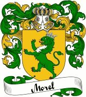 Morel Coat of Arms  Morel Family Crest   VIEW OUR FRENCH COAT OF ARMS / FRENCH FAMILY CREST PRODUCTS HERE