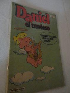 Vintage Dennis The Menace In Spanish Daniel el Travieso Vol 1 1980 Comic book. Find me at www.dandeepop.com