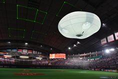 パナソニック、風船型ドローン「バルーンカム」発表。落下時の安全確保し大会場のイベント演出に活用 - Engadget 日本版