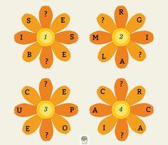 Encuentra las letras que faltan para completar las palabras #gimnasiamental