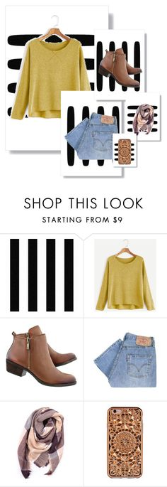 """""""Considering the weather..."""" by alexandra-3-grace ❤ liked on Polyvore featuring Levi's, Everest and Felony Case"""